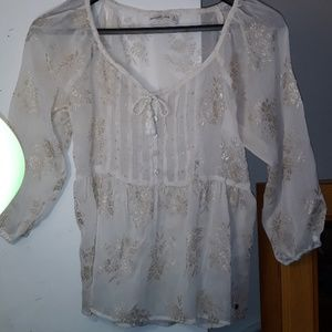 Abercrombie & Fitch New York Size Small Blouse